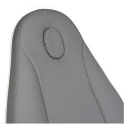 Elektrické kosmetické křeslo MAZARO BR-6672C šedé