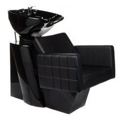 Kadeřnický mycí box ERNESTO BM-32969 černý