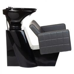 Kadeřnický mycí box ERNESTO BM-32969 šedý