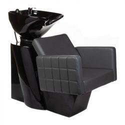 Kadeřnický mycí box ERNESTO BM-32969 šedý (BS)