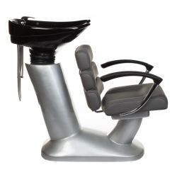 Kadeřnický mycí box FIORE BR-3530B šedý