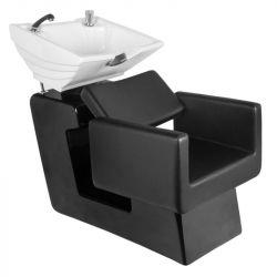 Kadeřnický mycí box GABBIANO TURIN černý (AS)