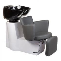 Kadeřnický mycí box LUIGI BR-3542 šedý (BS)