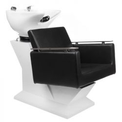 Kadeřnický mycí box MILO BH-8025 černý (BS)