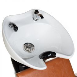 Kadeřnický mycí box MILO BH-8025 světle hnědý