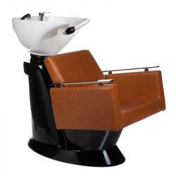 Kadeřnický mycí box MILO BH-8025 světle hnědý (BS)