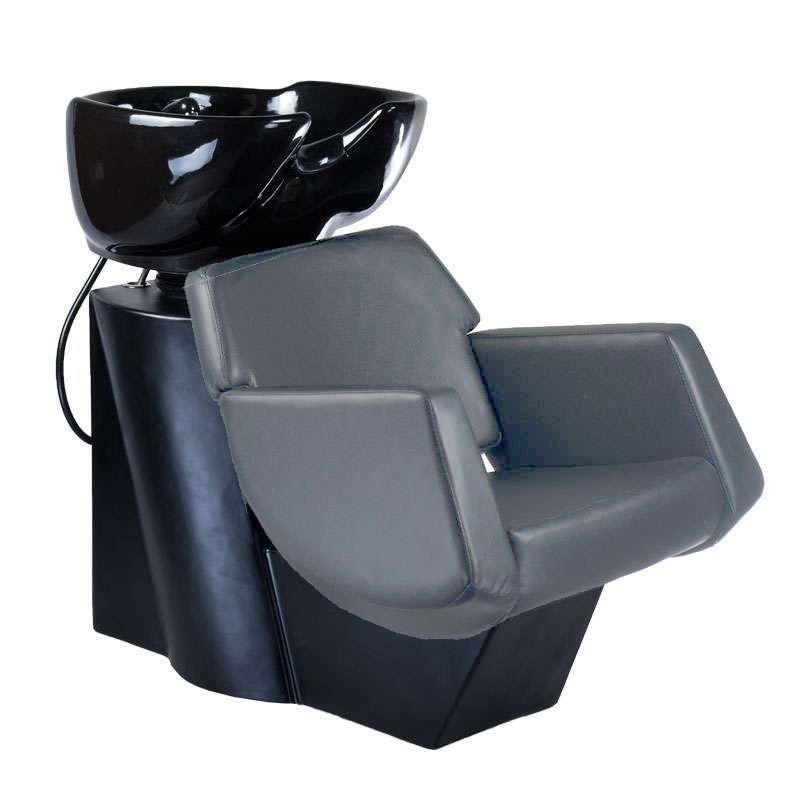Kadeřnický mycí box NICO BD-7821 šedý