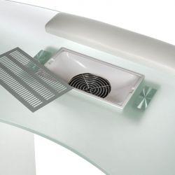 Kosmetický stolek na manikúru BD-3453+P bílý