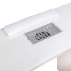 Stolek na manikúru BD-3425+P s odsávačkou prachu - bílý