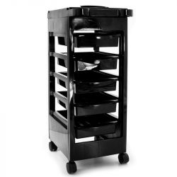 Kadeřnický vozík 048 černý (AS)