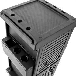 Kadeřnický vozík 100C černý