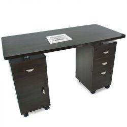 Kosmetický stolek 2022 s odsávačkou  - wenge (AS)