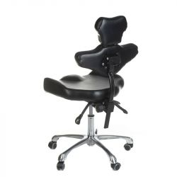 Otočná stolička pro tetování s opěradlem MIKA INKOO