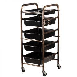Pojízdný kadeřnický stolek  8-76 (AS)