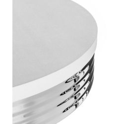 Barový stolek STO29 bílý