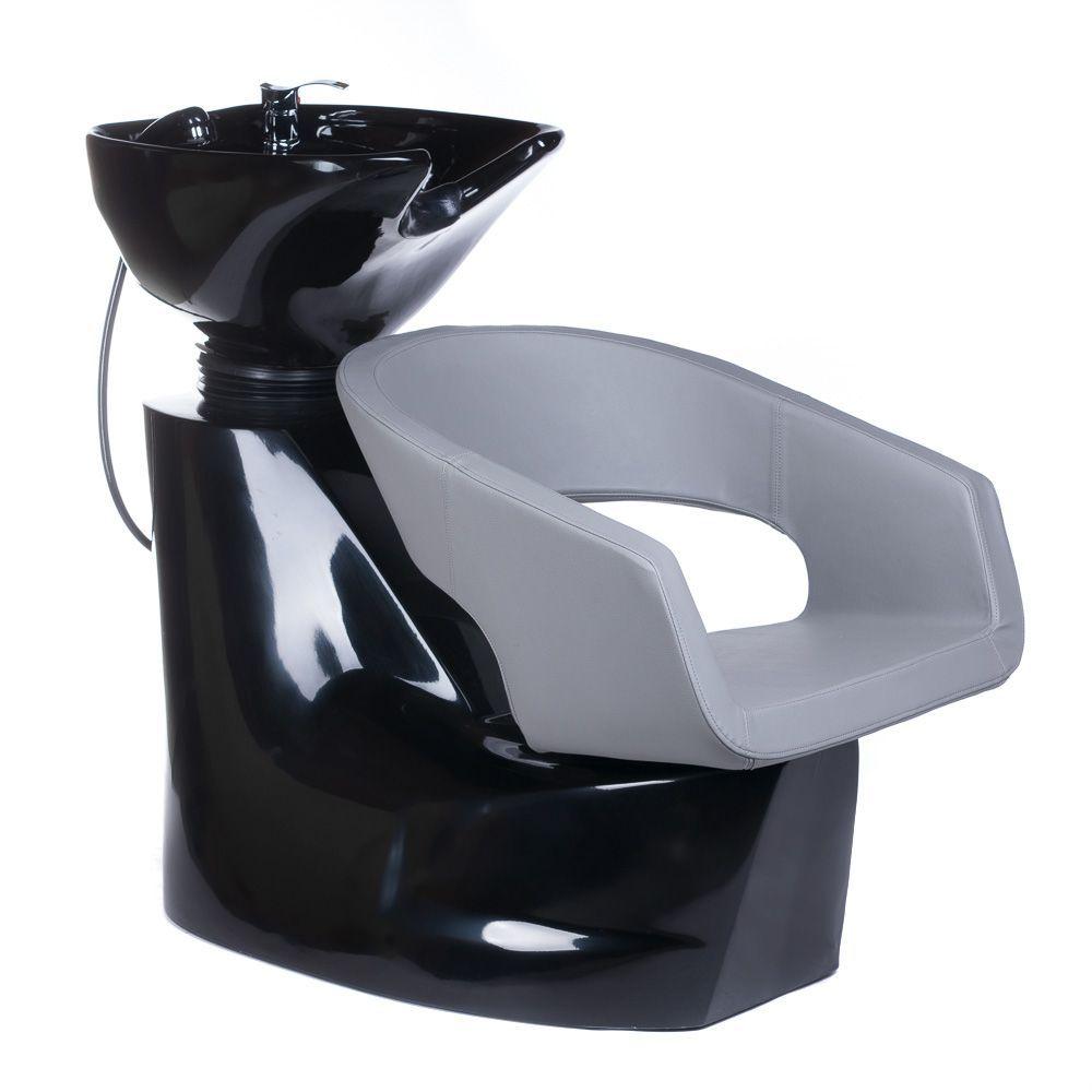 Kadeřnický mycí box Paolo II BH - 8031 světle šedý