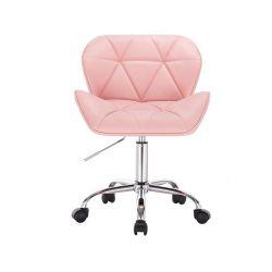 Kosmetická židle HC-111K růžová