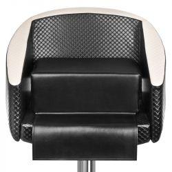 Dětský sedák na kadeřnické křeslo - černý