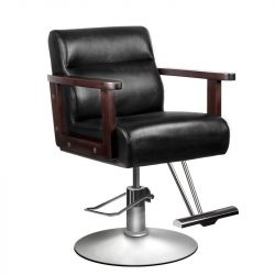 Kadeřnická židle 0168 - černá