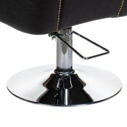 Kadeřnické křeslo ALBERTO BH-8038 - černé