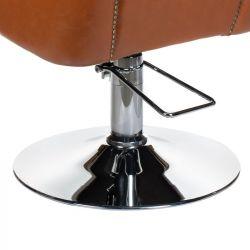 Kadeřnické křeslo ALBERTO BH-8038 - světle hnědé