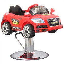 Kadeřnické křeslo pro děti autíčko (AS)