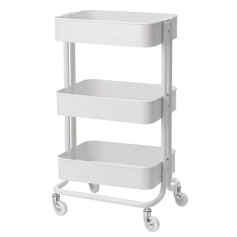 Kosmetický úložný stolek HS05 bílý