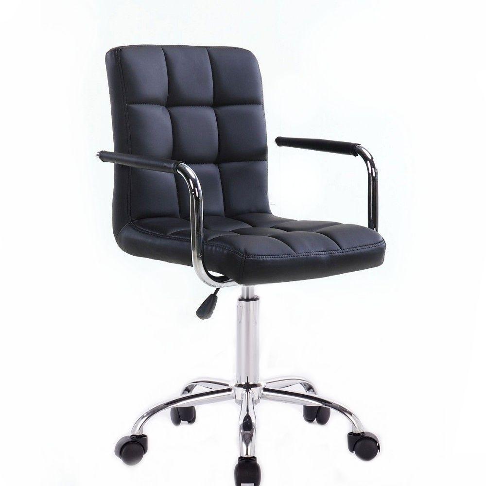 Kosmetická židle na kolečkách HC-1015KP černá