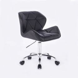 Kosmetická židle HC-111K černá (V)