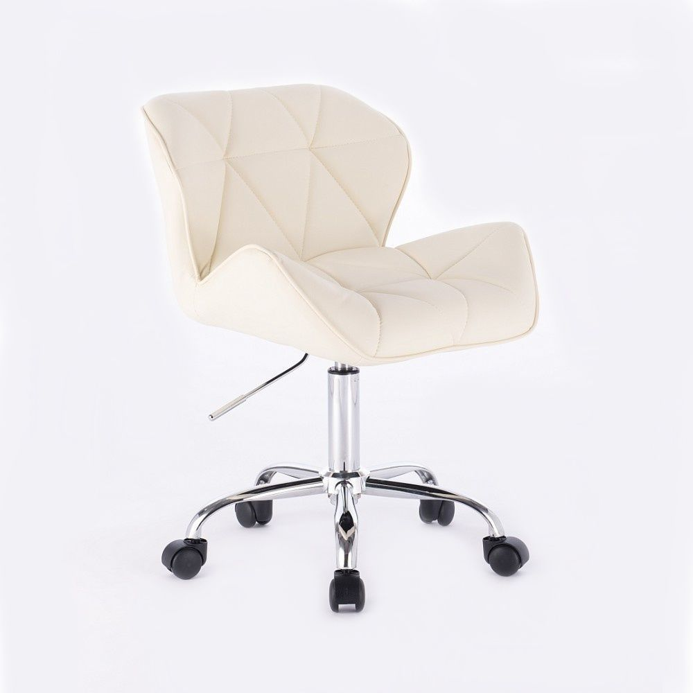 Kosmetická židle HC-111K krémová