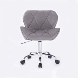 Kosmetická židle HC-111K šedá