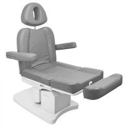 Elektrické kosmetické křeslo AZZURRO 708A šedé