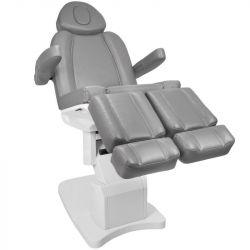 Elektrické kosmetické křeslo AZZURRO 708AS PEDI šedé