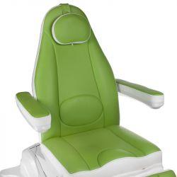 Elektrické kosmetické křeslo MAZARO BR-6672B zelené