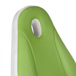 Elektrické kosmetické křeslo MAZARO BR-6672C zelené