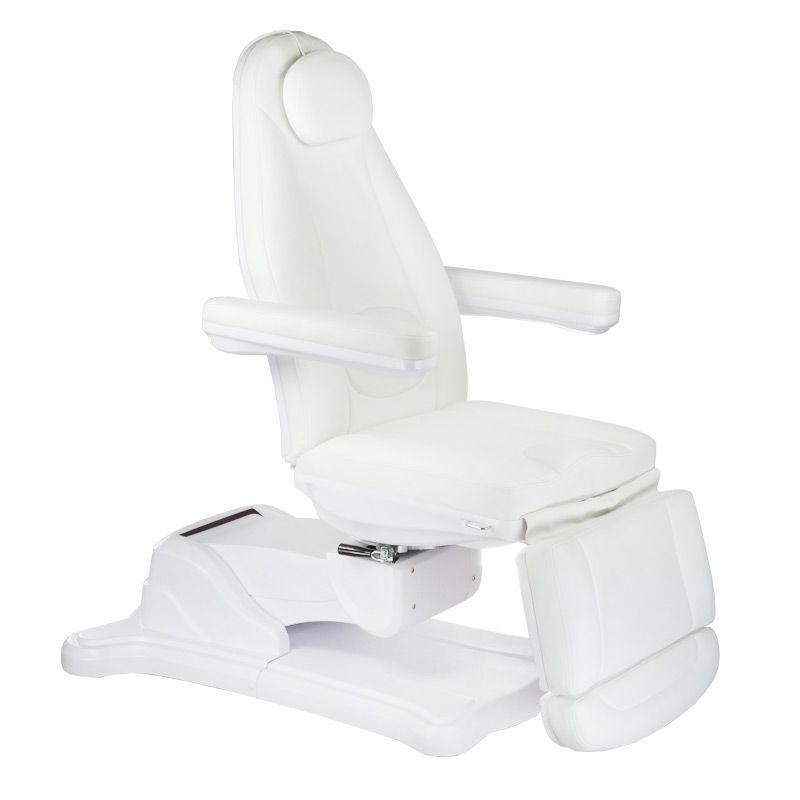 Elektrické křeslo kosmetické BR-6672 bílé