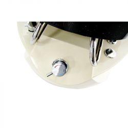 Kosmetické pedikérské křeslo SPA TS1204 ecru s masáží