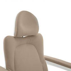 Kosmeticko-pedikérské elektrické křeslo AZZURRO 870S PEDI - béžové (AS)