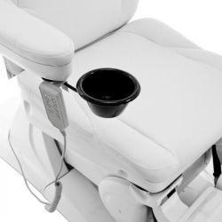 Kosmeticko-pedikérské elektrické křeslo AZZURRO 870S PEDI - bílé