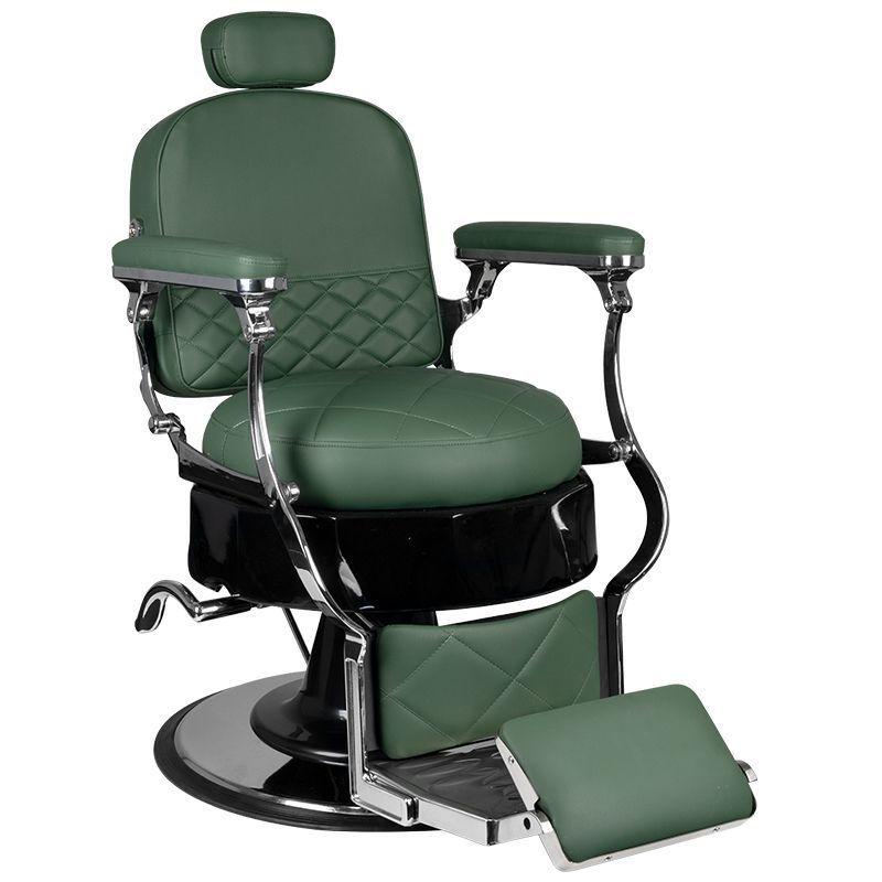 Barber křeslo VITO - zelené