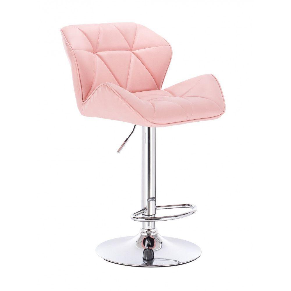 Barová židle MILANO růžová