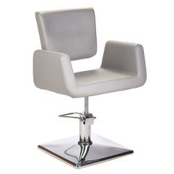 Kadeřnická židle Vito BH-8802 - světle šedá