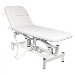 Elektrické masážní lehátko 079 - 1 motor - bílé