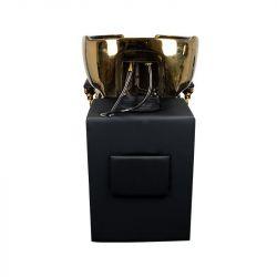 GABBIANO Barber mycí box CLAUDIUS GOLD - černý