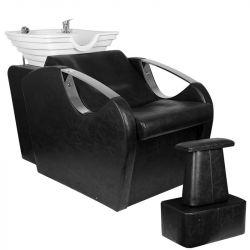 Kadeřnický mycí box HSB59 - černý