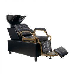 GABBIANO Barber mycí box BOSS - stará kůže černá