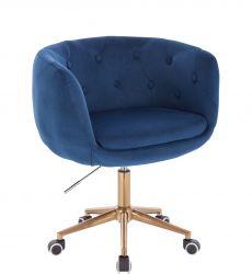 Kosmetická židle MONTANA VELUR