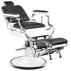 Barbers holičské křeslo GABBIANO OLD KING černé