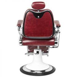 Barbers holičské křeslo MOTO STYLE bordó