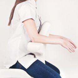 Kosmetické křeslo AZZURRO SPECIAL 052 bílé